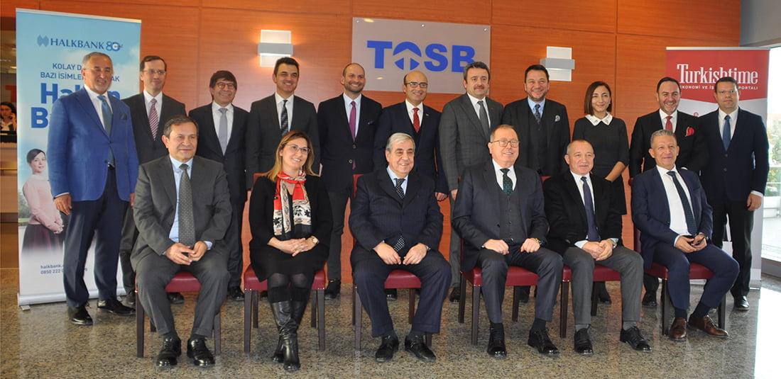 Tosb Ortak Akıl Toplantısı Katılımcıları